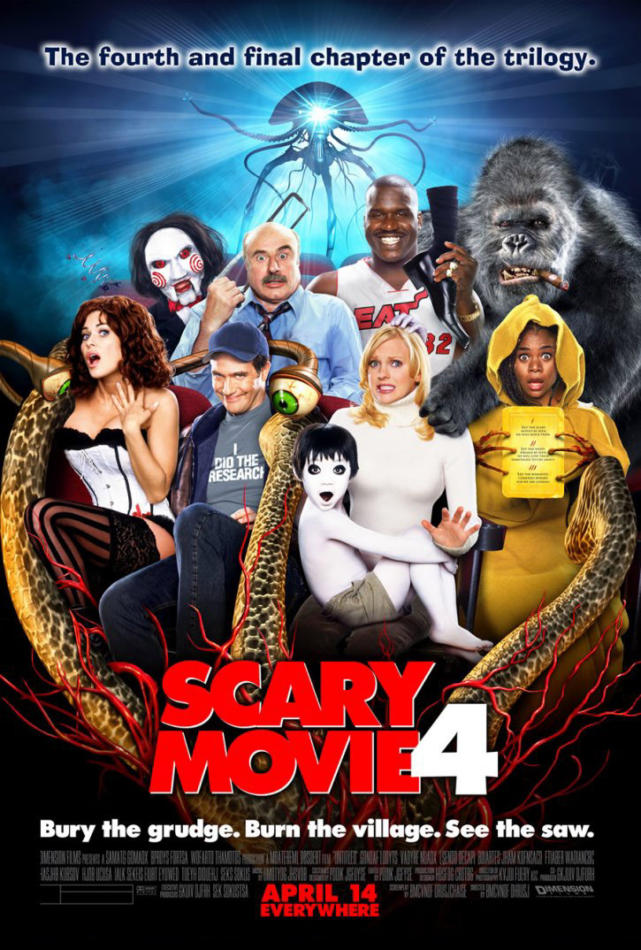 Scary Movie 5 Official Poster