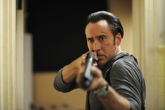 Nicholas Cage shotgun in Tokarev 2014 movie still